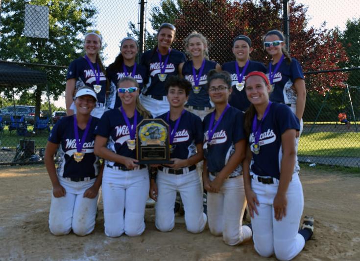 wildcats gold softball champions